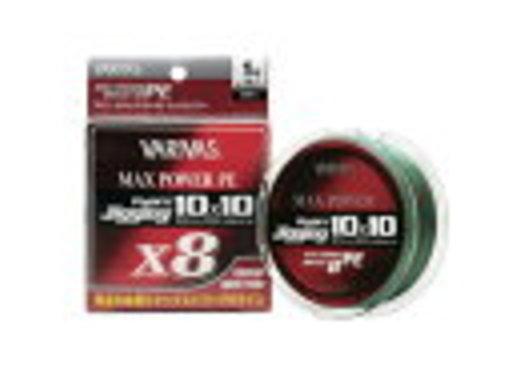 バリバス アバニ ジギング10×10 マックスパワーPE X8