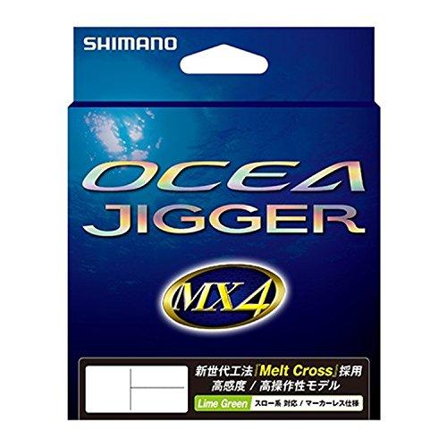 シマノ OCEA JIGGER MX4 PE 1.0号