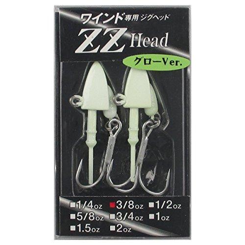 オンスタックルデザイン ZZヘッド 3/8oz グロー