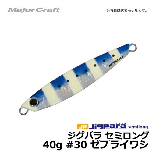 メジャークラフト ジグパラ40g イワシカラー