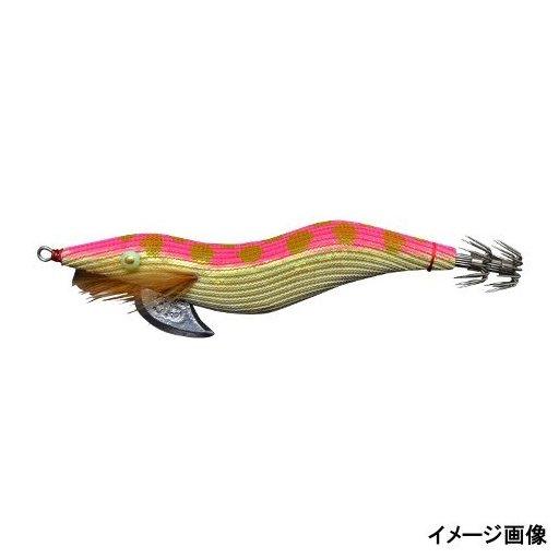 林釣漁具製作所 餌木猿ピンクオニオンドット3.5号 金ホロテープ