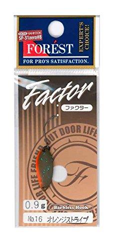 フォレスト Factor 0.9g オレンジストライプ