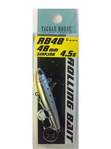 タックルハウス Rolling Bait 48 メタリックシラス
