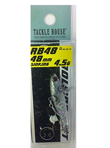 タックルハウス ローリングベイト RB55 48mm 4.5g No.8 クリア