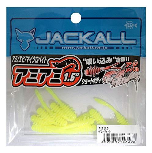 ジャッカル アミアミ 1.5 グローチャート
