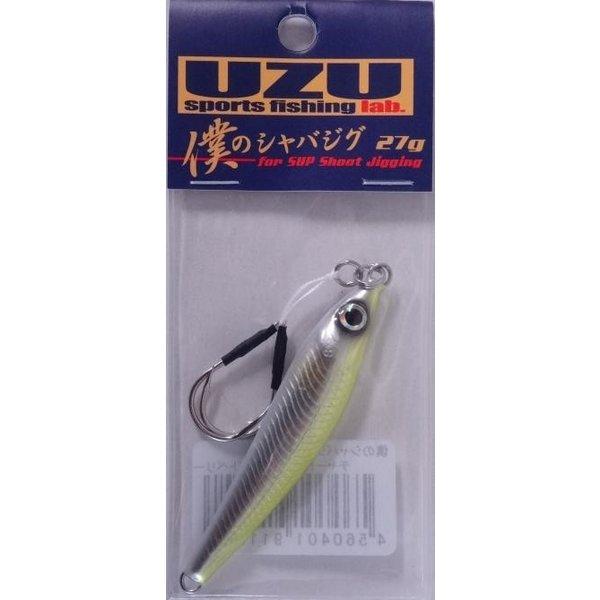 UZUスポーツフィッシングラボ 僕のシャバジグ 27g チャートバックホワイトベリー