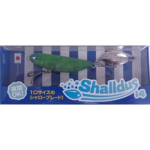 ブルーブルー Shalldus14 マットクリアグリーン
