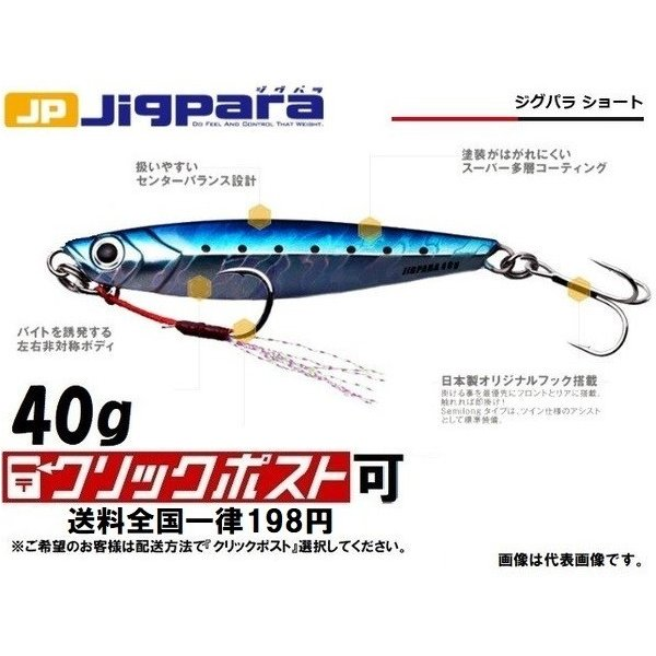 エムジークラフト ジクパラ40 グロー