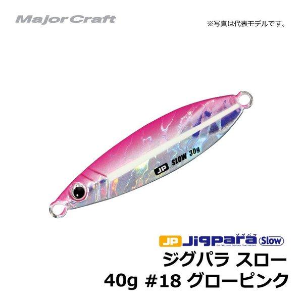 メジャークラフト ジグパラ  タングステン 50g ピンクグロー