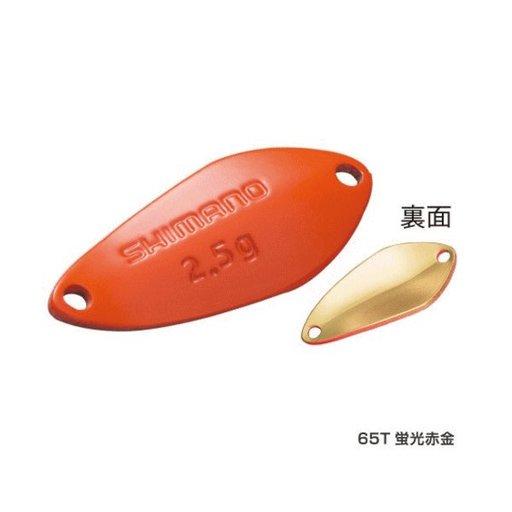 シマノ ロールスイマー 赤金2.5g