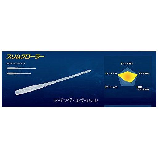 ヤマシタ マリア ママワームソフトスリムクローラー1.8インチ GKR/PK