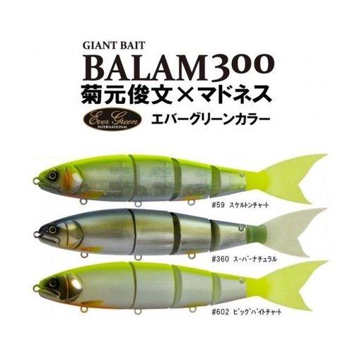 エバーグリーン バラム300 スケルトンチャート