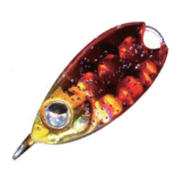 ルーディーズ 魚子メタル 3.0g アカキンラメ