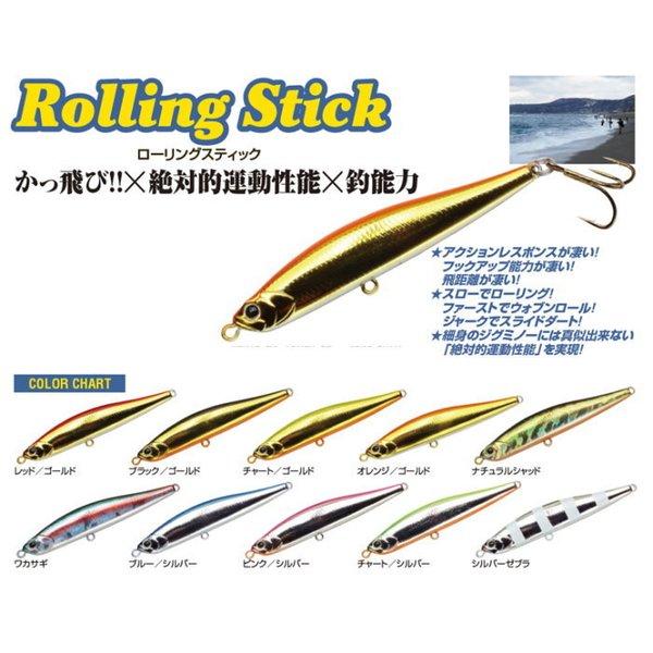 ウォーターランド Rolling Stick 95H ブルーシルバー