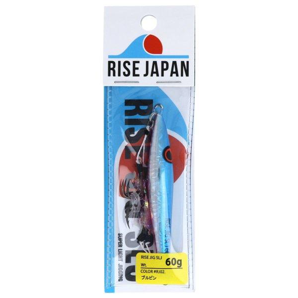 ライズ ジャパン rise jig 60g ブルピン