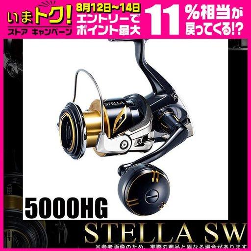 シマノ 01ステラSW 5000HG