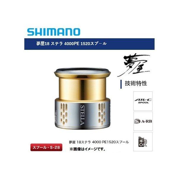 シマノ 18ステラ STELLA('18)C5000XG 4000MHG SPOOL 18ステラC5000XG 4000MHGスプール