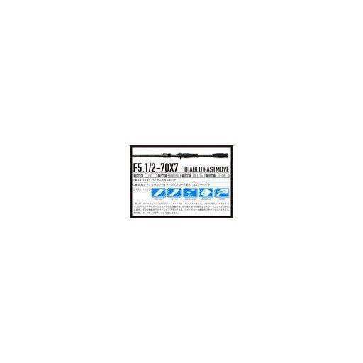 メガバス デストロイヤーX7 F5.1/2-70X7 ディアブロファーストムーブ