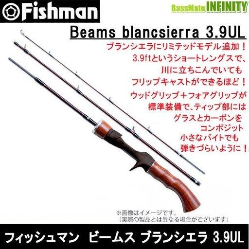 フィッシュマン ビームス ブランシエラ 3.9UL
