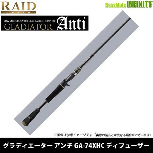 レイドジャパン グラディエーター アンチ GA-74XHC Diffuser