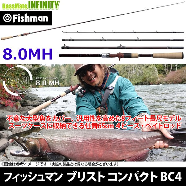 フィッシュマン B.C.4 8.0MH