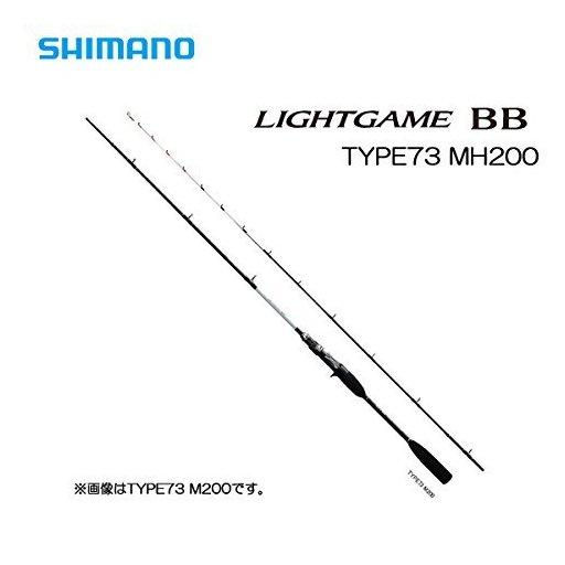 シマノ ライトゲーム BB TYPE73 MH200