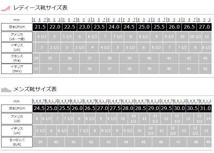 日本と海外の違い「靴のサイズ」