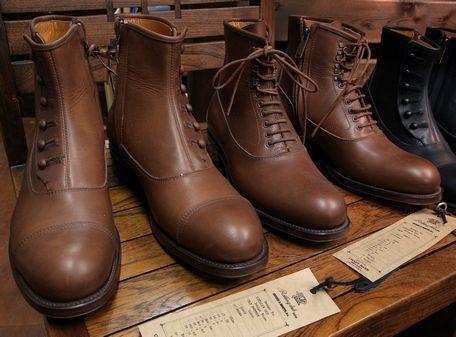 ブーツの種類◆形状・素材