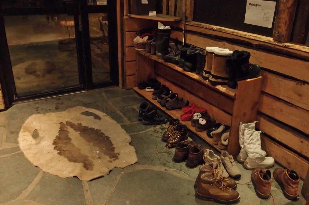 北欧では靴を脱ぎます