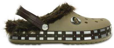crocband star wars chewbacca lined clog
