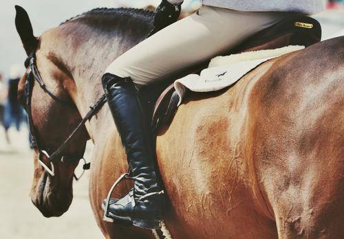 ブーツは乗馬の必需品