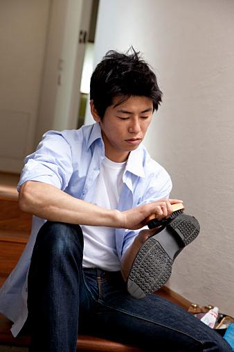 靴のお手入れ、簡単にしたい!