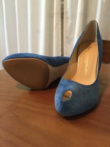 靴の雰囲気に合わせた、滑り止め機能付きハーフソール