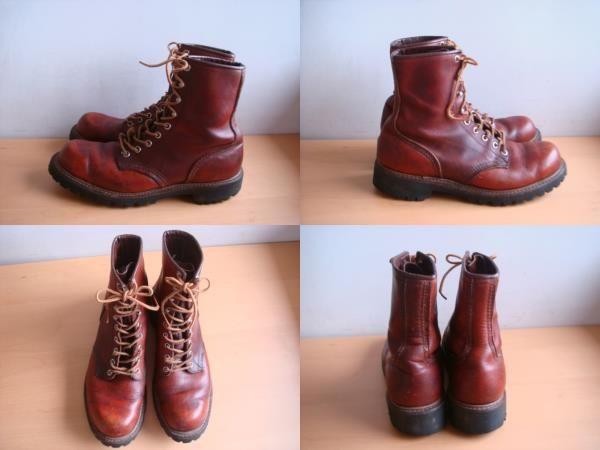 レッドウイングのブーツは履けば履くほどに足に馴染んでいく