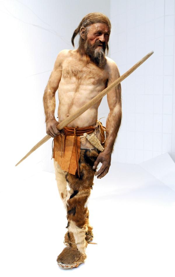 紀元前3300年ごろの原始人の技術を採用