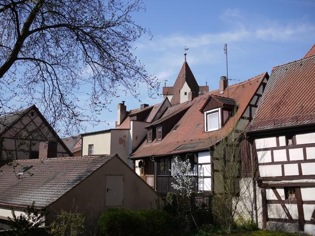 現在のヘルツォーゲンアウラッハの街風景