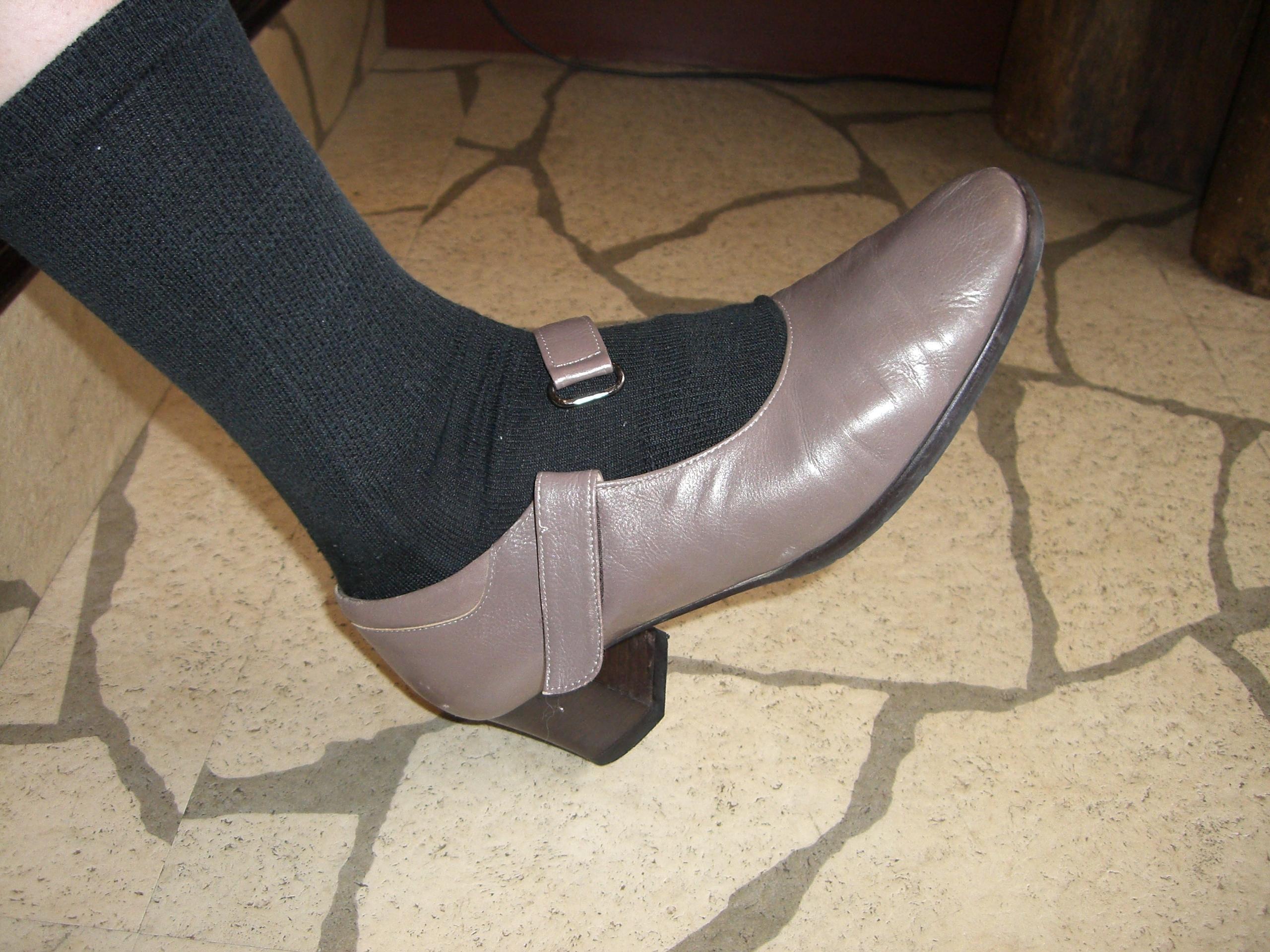 ジャストフィットの靴が一番!