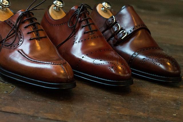しわの多い靴には特に!シューキーパーがお勧め