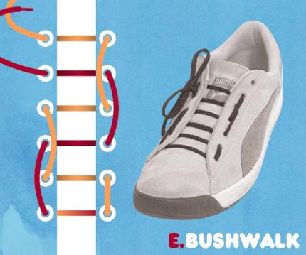 BUSHWALKの結び方!