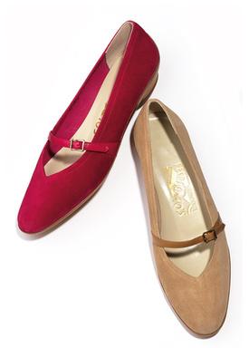 サルヴァトーレ・フェラガモがオードーリーのために作った靴「オードリー」