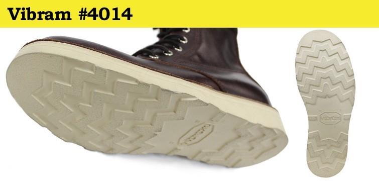 Vibram社の#4014は軽量かつクッション性に優れています