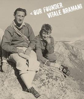 「Vibram(ビブラム)」創業者のVitale Bramani(ビターレ・プラマニー)氏