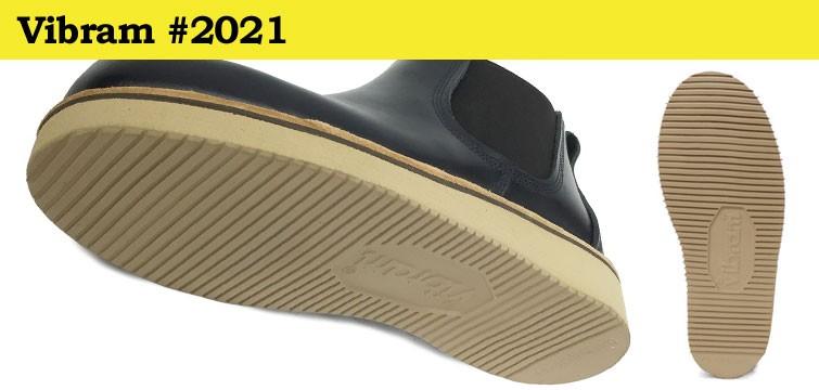 Vibram社の#2021はクッション性が高く軽量で足当りを軽減するやわらかい素材