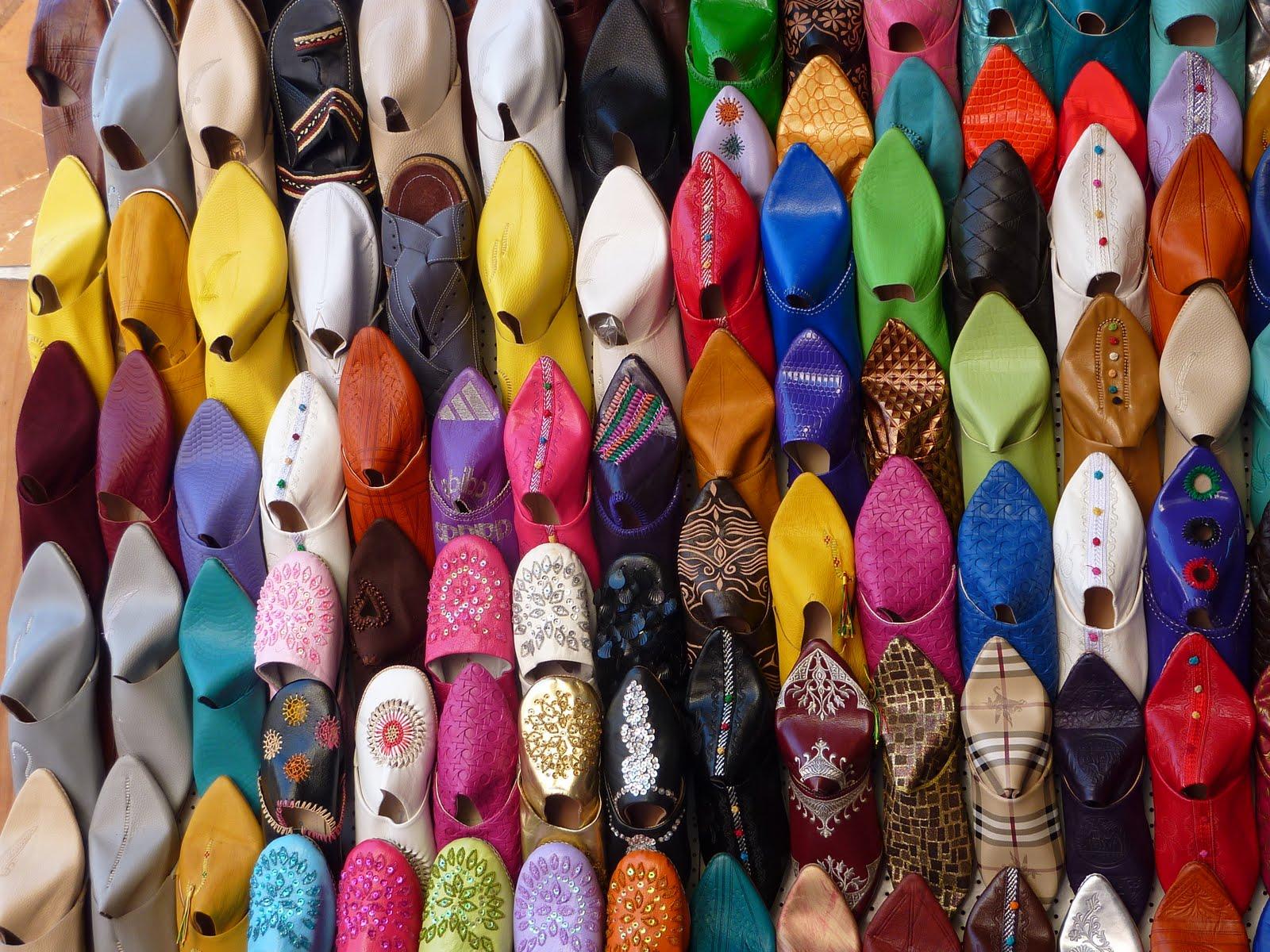 バブーシュとは元々、モロッコの伝統的な履物です