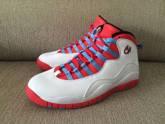 "Air Jordan 10 Retro ""Chicago"" City Pack"