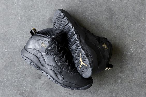 "Air Jordan 10 Retro ""NYC"" City Pack"