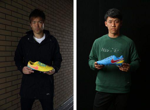 ナイキ ティエンポ レジェンド VI iDを愛用している日本のサッカー選手たち