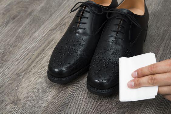 メンテナンスされた靴は濡れても持ちがいい!