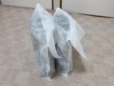 ただの白い袋じゃなかった!?