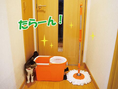 ちょっと楽しい床掃除♪